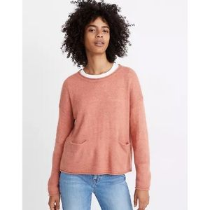 📌 Madewell Chelsea Pocket Pullover Sweater